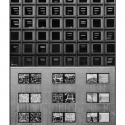 High Rise Windows (black and white photograph)