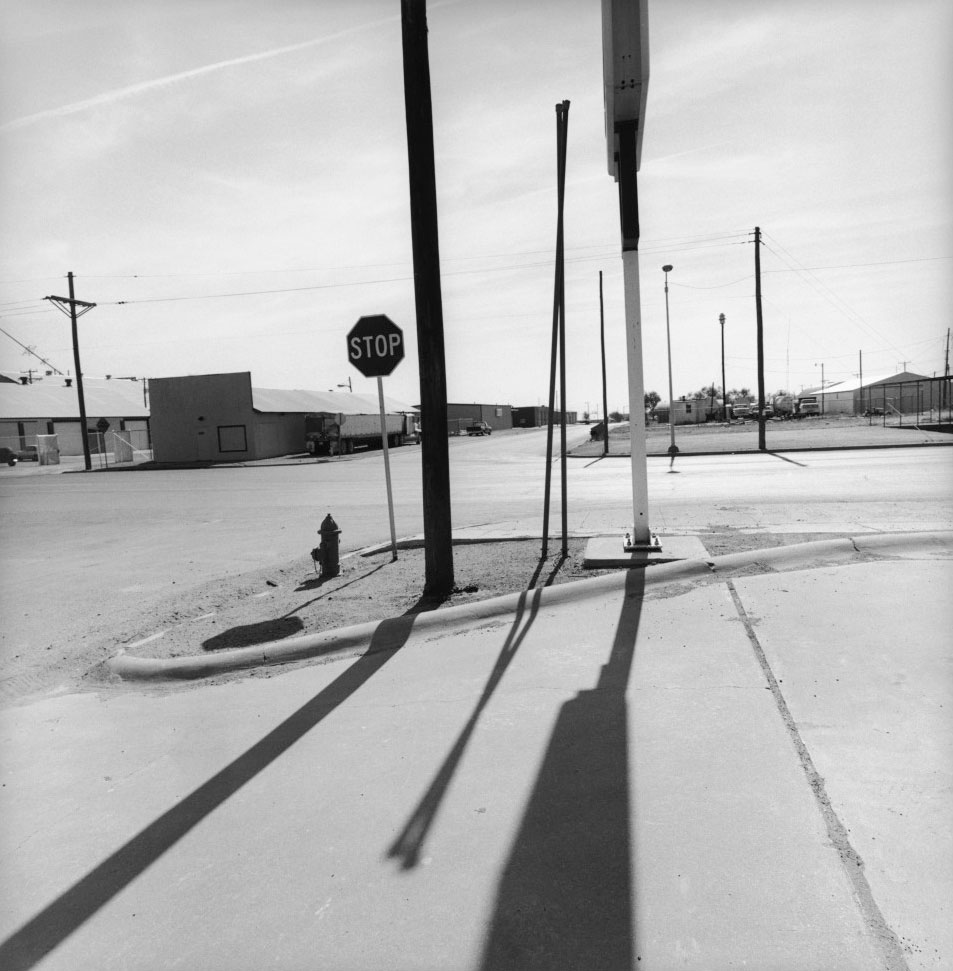 Lee Friedlander Black and White Photograph