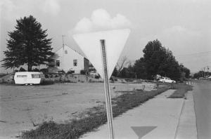 Lee Friedlander black and white photograph