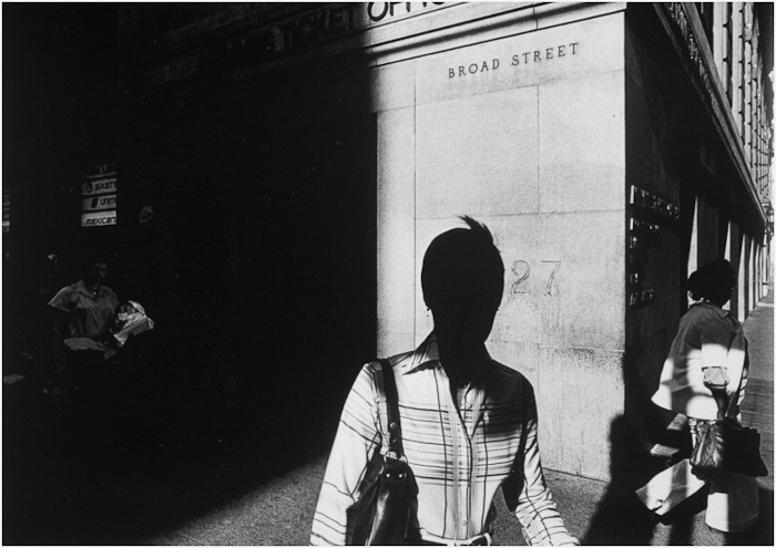 Ray Metzker Black and White Photograph