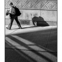 Shadow Self (black and white photograph)