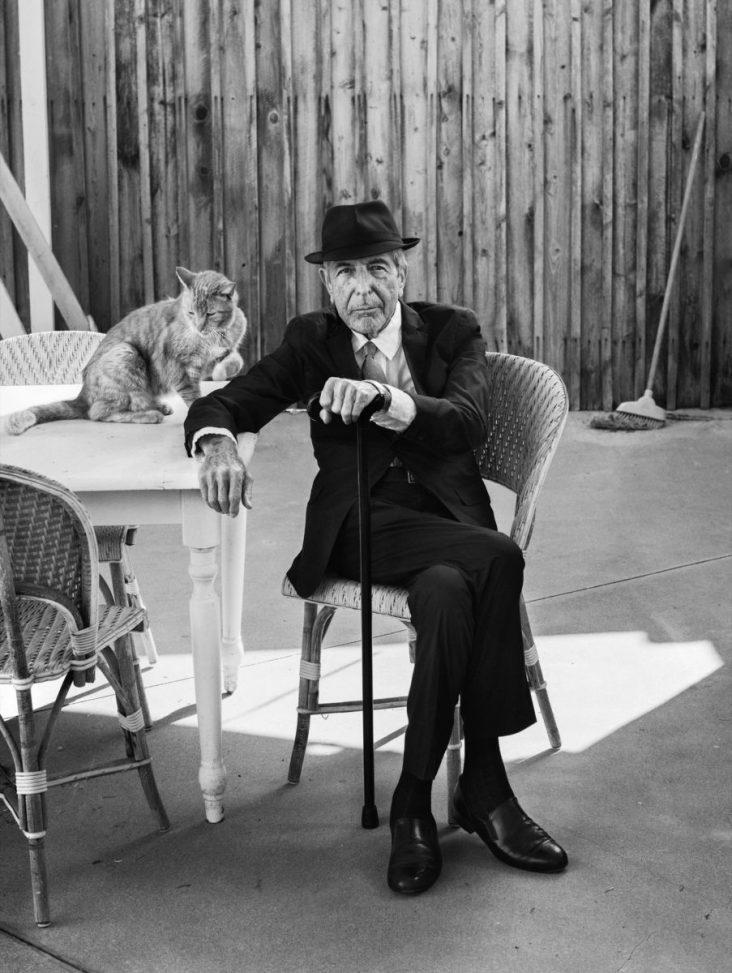 Leonard Cohen by Graeme Mitchell