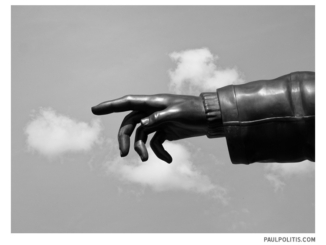 Touch (black and white photograph)