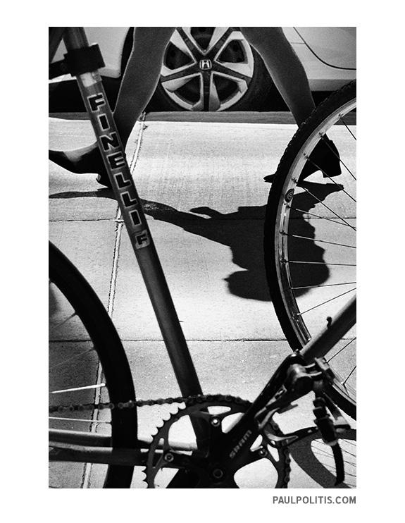 Like Clockwork (black and white photograph)