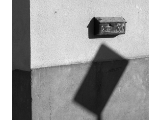 Mailbox (black and white photograph)