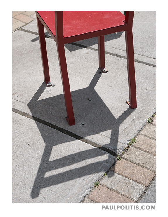 Red Chair (colour photograph)