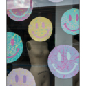 Smiley Mannequin (colour photograph)