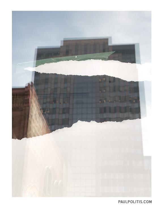 Torn (colour photograph)