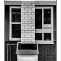 Next Window (black and white photograph)