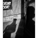 Untitled (Shadow Work) (black and white photograph)