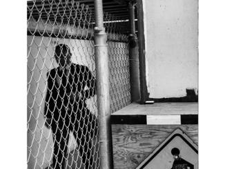 Urban Inmate P1040449 (black and white photograph)
