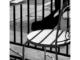 Urban Inmate P1090339 (black and white photograph)
