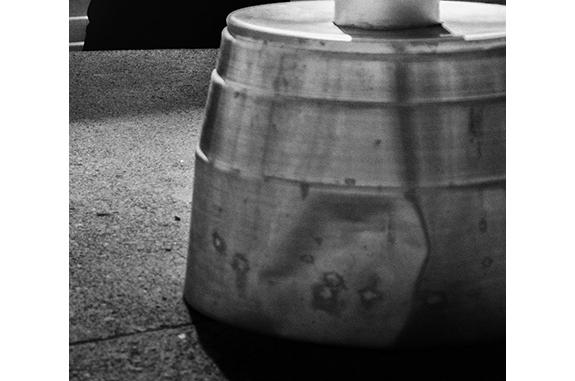 Urban Inmate P1090876 (black and white photograph)