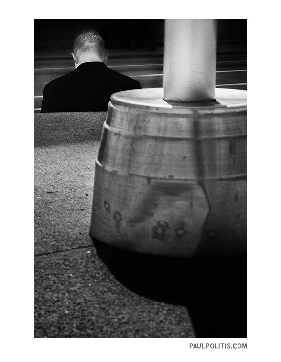 Nowhere Man #3 (black and white photograph)