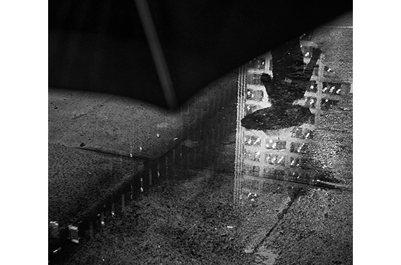 Urban Inmate P1110870 (black and white photograph)